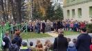 Odsłonięcie pomnika i wspólne odśpiewanie hymnu